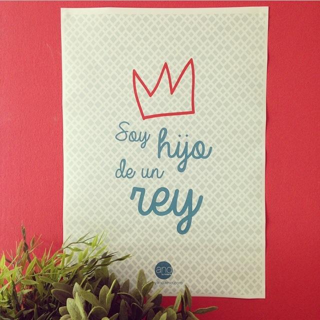 Soy hijo de un rey, poster