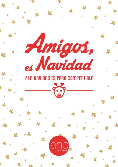 Imprimible Amigos, es Navidad IIB